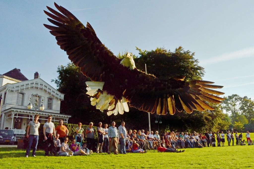 Hound & Hawk roofvogeldemonstratie