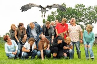 Teambuilding met roofvogels